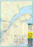 Quebec (Province) Travel Reference map